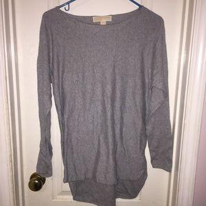 Michael Kors Grey Long Sleeve Sweater